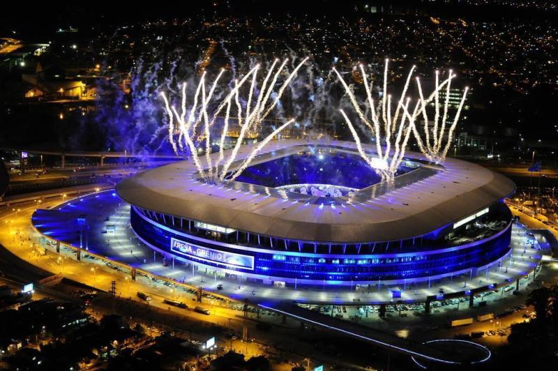 Climatização em tempo recorde na Inauguração da Arena do Grêmio