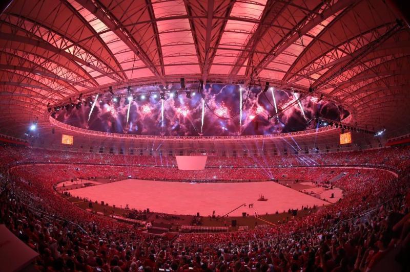Climatização perfeita na reinauguração do Estádio Beira Rio
